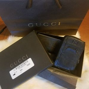 Authentic Gucci Camera/Accessory Case